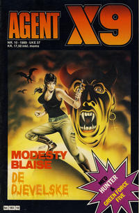 Cover Thumbnail for Agent X9 (Semic, 1976 series) #10/1989