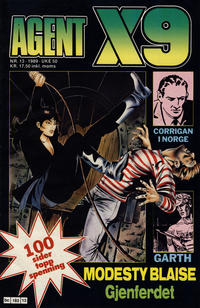 Cover Thumbnail for Agent X9 (Semic, 1976 series) #13/1989