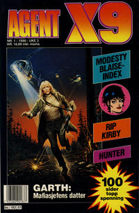 Cover Thumbnail for Agent X9 (Semic, 1976 series) #1/1990