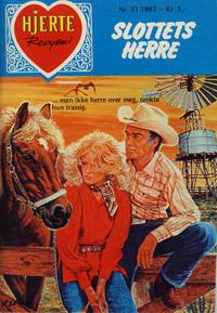 Cover Thumbnail for Hjerterevyen (Serieforlaget / Se-Bladene / Stabenfeldt, 1960 series) #51/1983