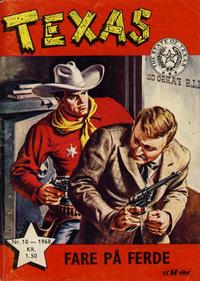 Cover Thumbnail for Texas (Serieforlaget / Se-Bladene / Stabenfeldt, 1953 series) #10/1968