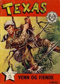 Cover Thumbnail for Texas (Serieforlaget / Se-Bladene / Stabenfeldt, 1953 series) #11/1968