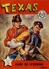 Cover Thumbnail for Texas (Serieforlaget / Se-Bladene / Stabenfeldt, 1953 series) #12/1968