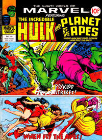 Cover Thumbnail for The Mighty World of Marvel (Marvel UK, 1972 series) #245