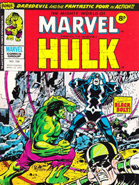 Cover Thumbnail for The Mighty World of Marvel (Marvel UK, 1972 series) #186