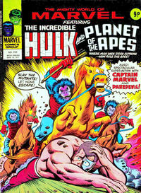 Cover Thumbnail for The Mighty World of Marvel (Marvel UK, 1972 series) #233