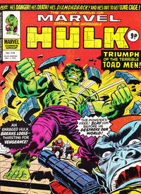 Cover Thumbnail for The Mighty World of Marvel (Marvel UK, 1972 series) #218
