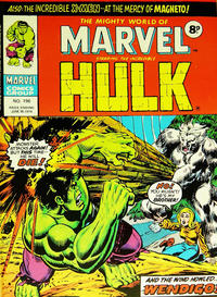 Cover Thumbnail for The Mighty World of Marvel (Marvel UK, 1972 series) #196