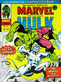 Cover Thumbnail for The Mighty World of Marvel (Marvel UK, 1972 series) #161