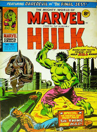 Cover Thumbnail for The Mighty World of Marvel (Marvel UK, 1972 series) #152
