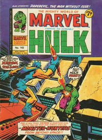 Cover Thumbnail for The Mighty World of Marvel (Marvel UK, 1972 series) #102