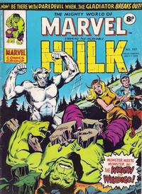Cover Thumbnail for The Mighty World of Marvel (Marvel UK, 1972 series) #197