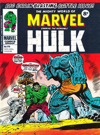 Cover Thumbnail for The Mighty World of Marvel (Marvel UK, 1972 series) #178