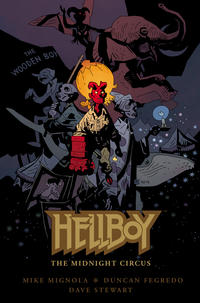 Cover Thumbnail for Hellboy: The Midnight Circus (Dark Horse, 2013 series)