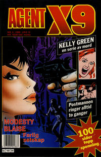 Cover Thumbnail for Agent X9 (Semic, 1976 series) #4/1990