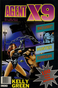 Cover Thumbnail for Agent X9 (Semic, 1976 series) #5/1990