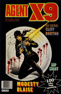 Cover Thumbnail for Agent X9 (Semic, 1976 series) #6/1990