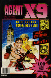 Cover Thumbnail for Agent X9 (Semic, 1976 series) #7/1990