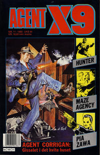 Cover Thumbnail for Agent X9 (Semic, 1976 series) #11/1990