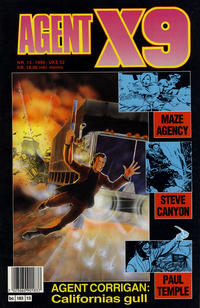 Cover Thumbnail for Agent X9 (Semic, 1976 series) #13/1990