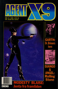 Cover Thumbnail for Agent X9 (Semic, 1976 series) #12/1990