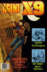 Cover Thumbnail for Agent X9 (Semic, 1976 series) #1/1991
