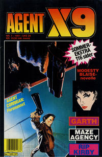 Cover Thumbnail for Agent X9 (Semic, 1976 series) #7/1991
