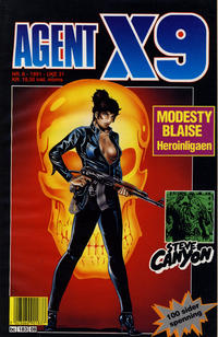 Cover Thumbnail for Agent X9 (Semic, 1976 series) #8/1991