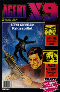 Cover Thumbnail for Agent X9 (Semic, 1976 series) #10/1991