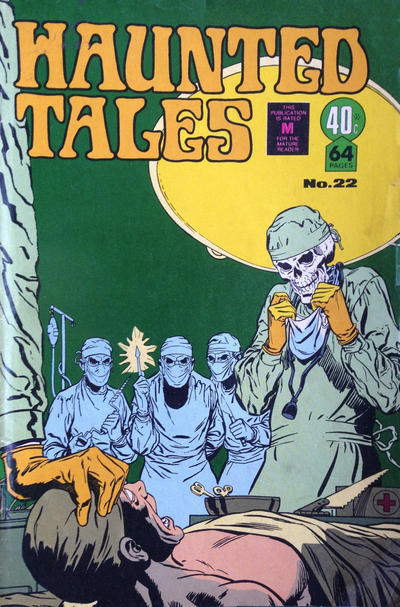 Cover for Haunted Tales (K. G. Murray, 1973 series) #22