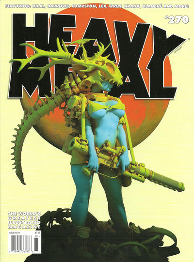 Cover for Heavy Metal Magazine (Heavy Metal, 1977 series) #270