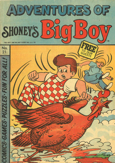 Cover for Adventures of Big Boy (Paragon Products, 1976 series) #21