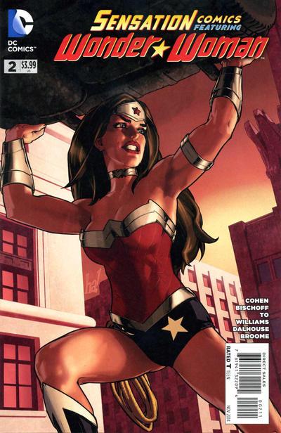 Cover for Sensation Comics Featuring Wonder Woman (DC, 2014 series) #2