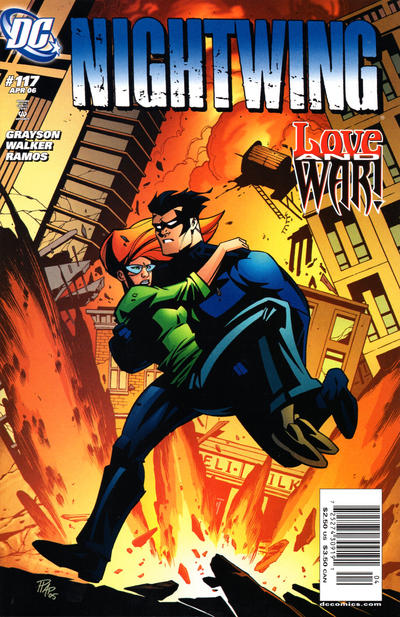 Cover for Nightwing (DC, 1996 series) #117 [Direct Edition]