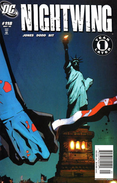 Cover for Nightwing (DC, 1996 series) #118 [Direct Edition]