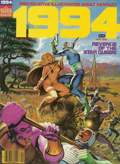 Cover for 1994 (Warren, 1980 series) #24 [Regular Barcode]