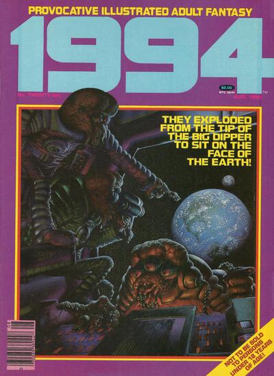 Cover for 1994 (Warren, 1980 series) #26 [Regular Barcode]