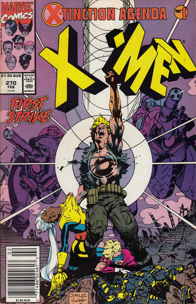 Cover for The Uncanny X-Men (Marvel, 1981 series) #270