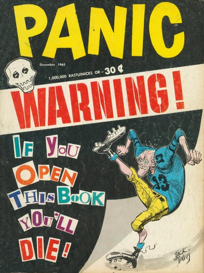 Cover for Panic (Panic Publications, 1958 series) #10