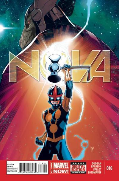 Cover for Nova (Marvel, 2013 series) #16