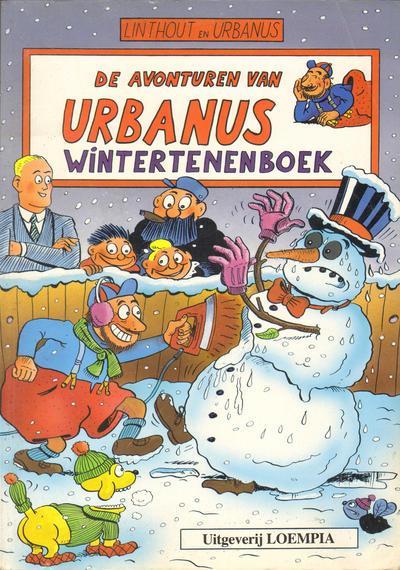 Cover for De avonturen van Urbanus - Wintertenenboek (Loempia, 1992 series) #[1]
