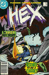 Cover for Hex (DC, 1985 series) #18 [Newsstand]