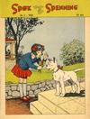 Cover for Spøk og Spenning (Oddvar Larsen; Odvar Lamer, 1950 series) #3/1950