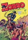 Cover for Zorro (L. Miller & Son, 1952 series) #82
