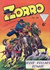 Cover for Zorro (L. Miller & Son, 1952 series) #83