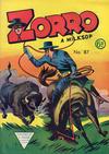 Cover for Zorro (L. Miller & Son, 1952 series) #87