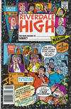 Cover for Riverdale High (Archie, 1990 series) #1 [Newsstand]