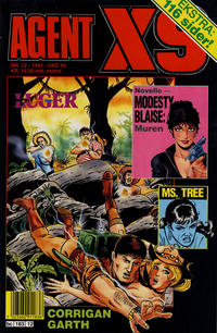 Cover Thumbnail for Agent X9 (Semic, 1976 series) #12/1991