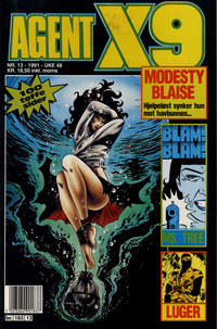 Cover Thumbnail for Agent X9 (Semic, 1976 series) #13/1991