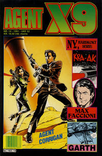 Cover Thumbnail for Agent X9 (Semic, 1976 series) #14/1991